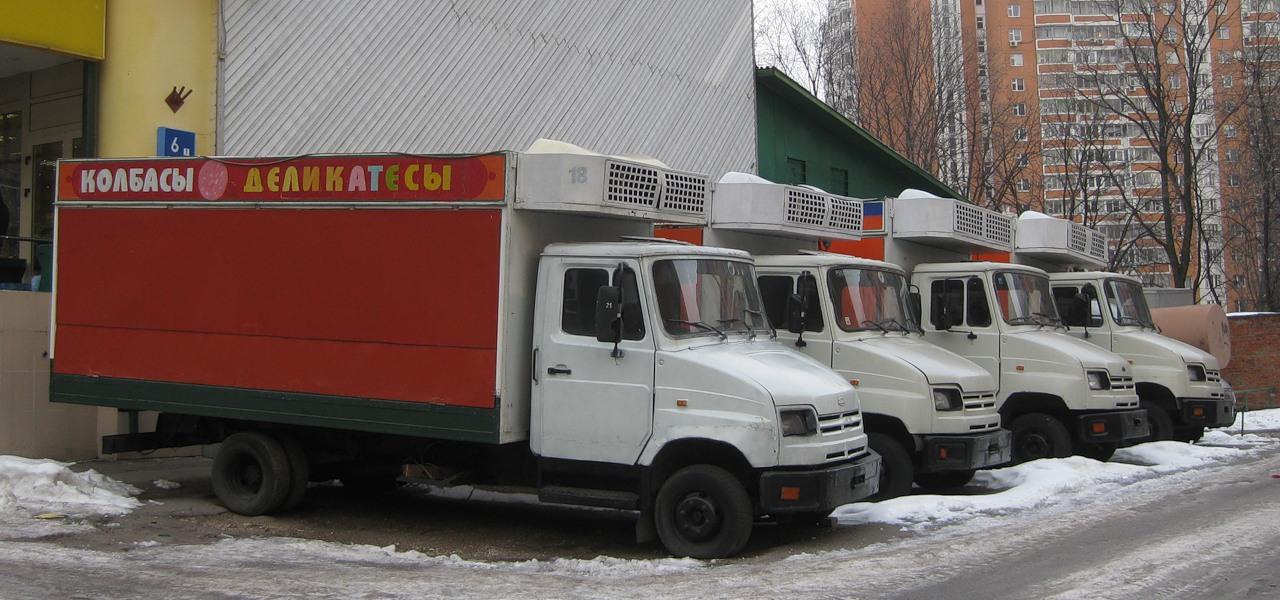 """ЗиЛ 5301 """"Бычок"""" - колбасы -"""