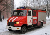 АЦ-0,8-40/2 на базе ЗиЛ 5301