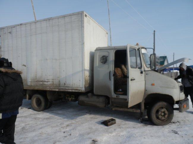 ЗиЛ 5301 Бычок термобудка (2001 г.)
